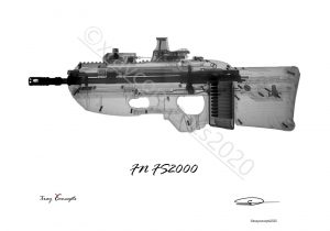 Gun X-ray Images