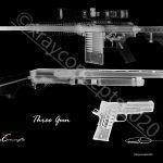 5×7 three gun neg