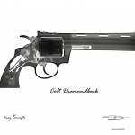 8×10 Colt Diamond Back Pos